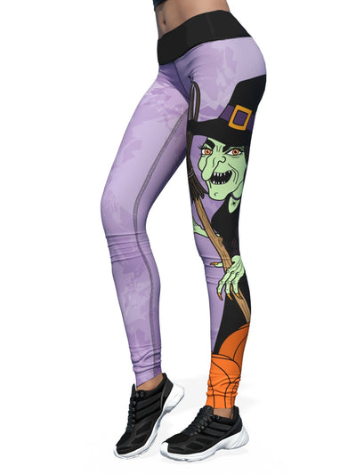 Women's Halloween Leggings | Bewitching