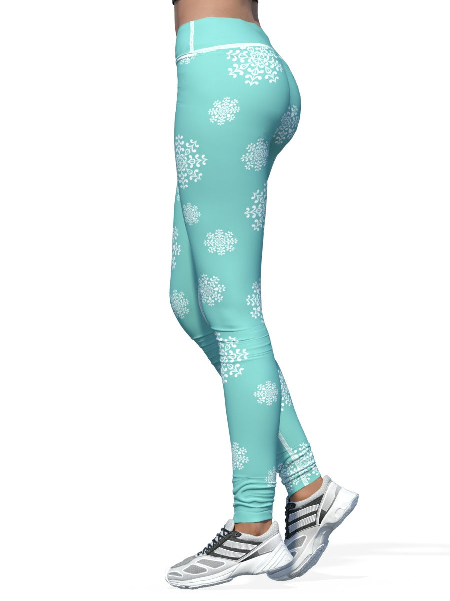 Women's Christmas Leggings | Let It Snow