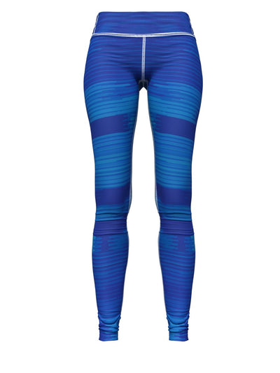 Women's Pattern Leggings | Indigo Weave