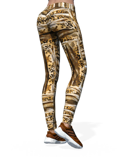 Women's Animal Leggings | Patterned Leopard