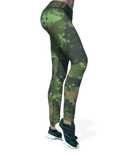 Women's Camo Leggings | CADPAT