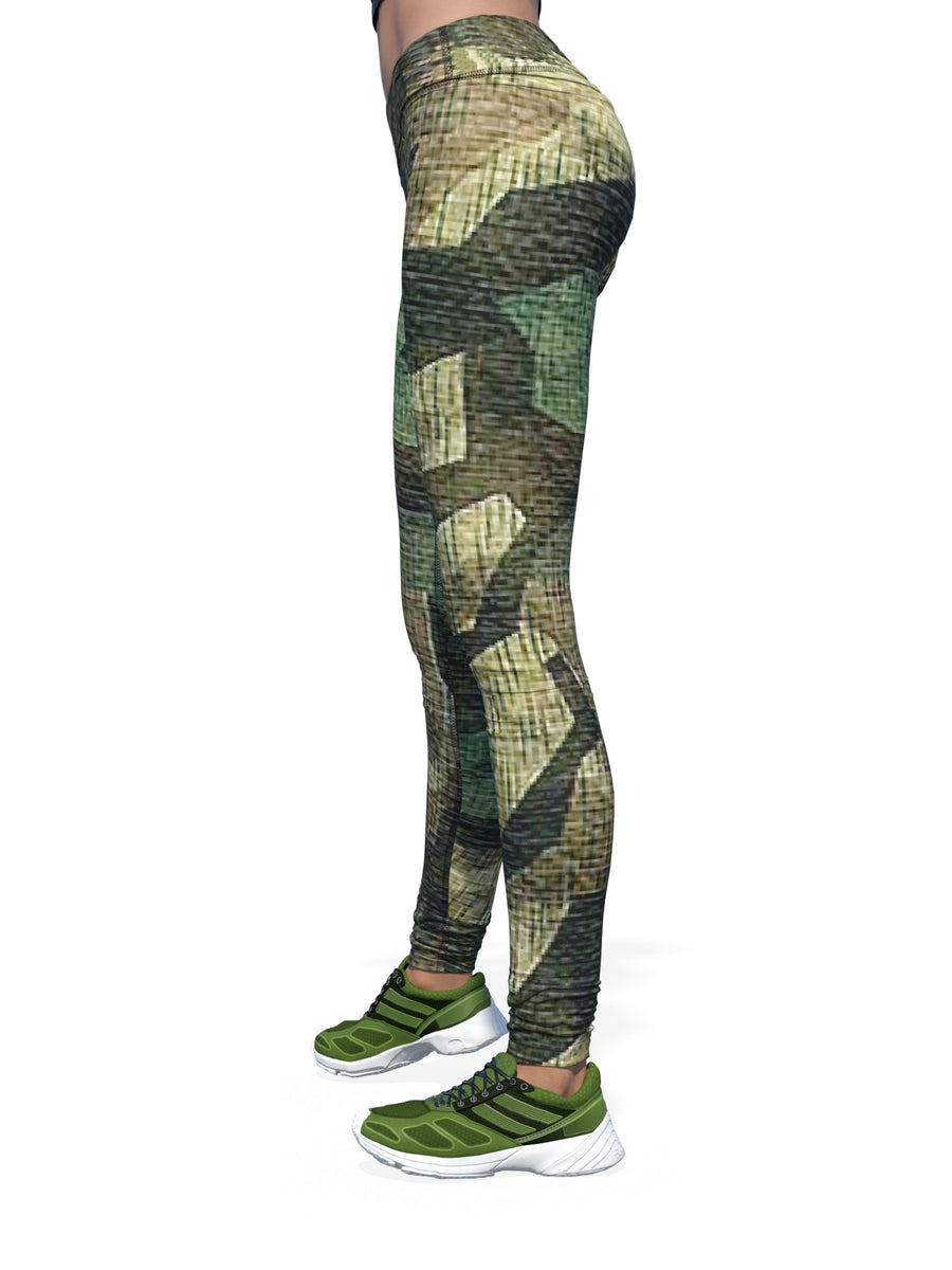 Women's Camo Leggings | Geo-Camo
