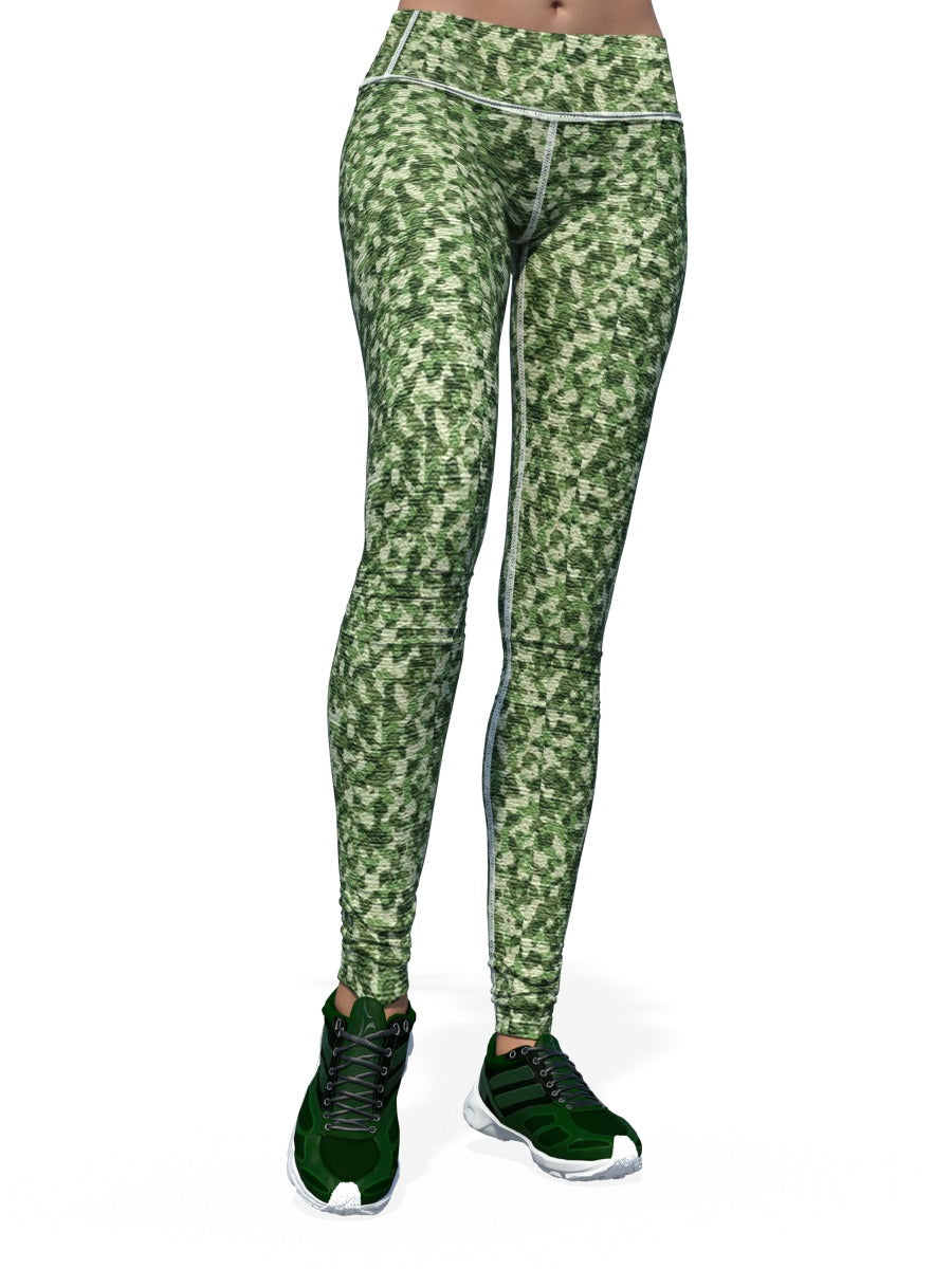 Women's Camo Leggings | Fine Camo