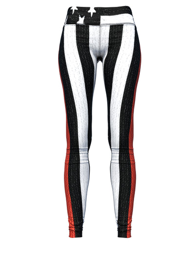 Women's Thin Red Line Leggings | Firefighter