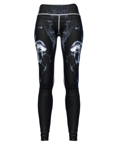 Women's Smoke Leggings | White Smoke