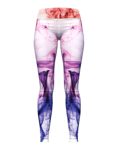 Women's Smoke Leggings | Purple Smoke