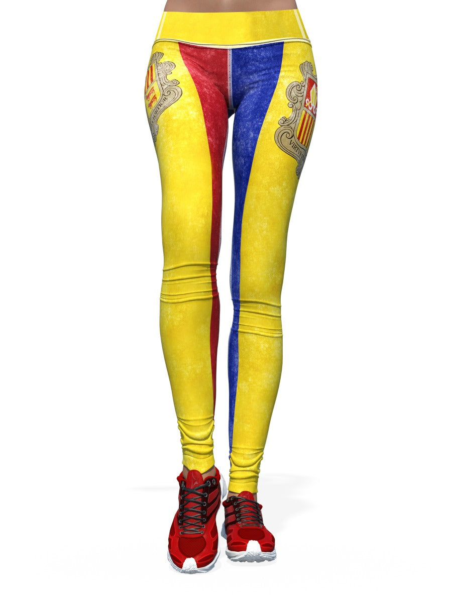 Women's Flag Leggings | Andorra
