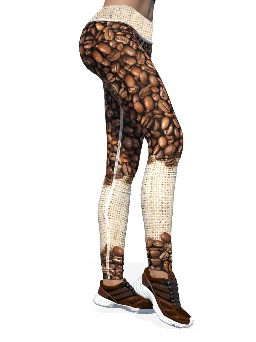 Women's Coffee Leggings | Brew Beans