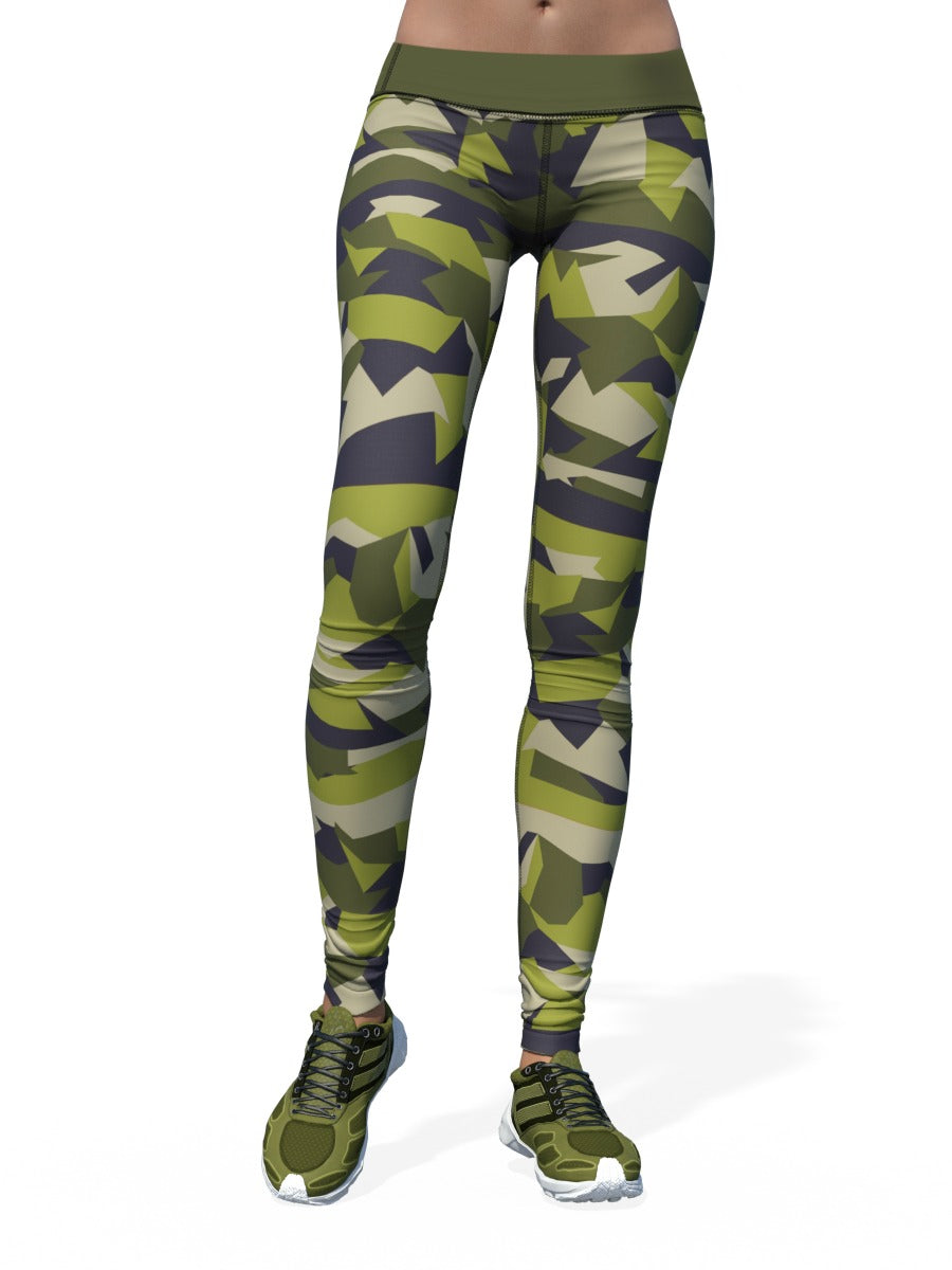 Women's Camo Leggings | Swedish Camo