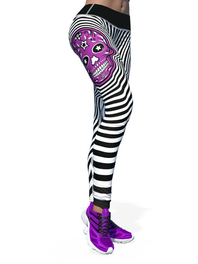 Women's Skull Leggings | Hypnotic Skull