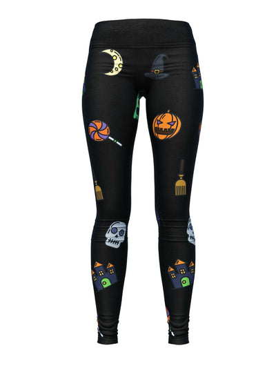 Women's Halloween Leggings | Wicked Halloween