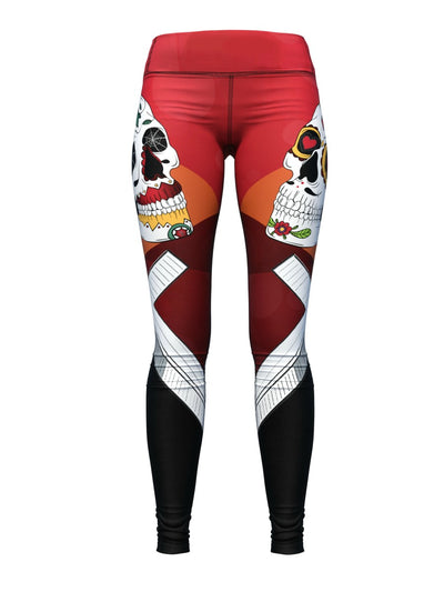 Women's Skull Leggings | Master of Puppets