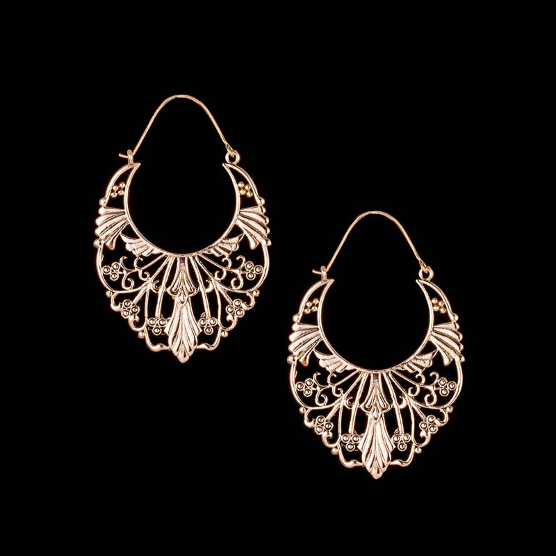Saraswati Earrings - Ekeko Crafts