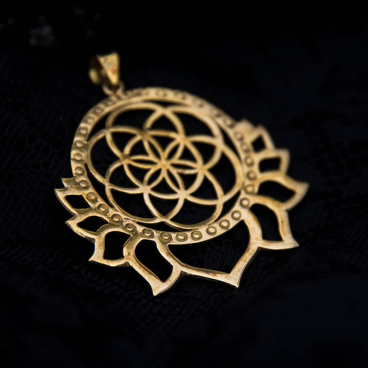 passion and necklace roots gold of b lotus products ruby jewelry satya pendant om