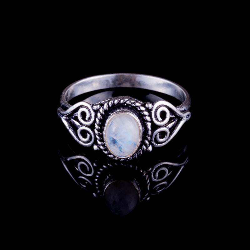 Prem Ring - Moonstone - Ekeko Crafts