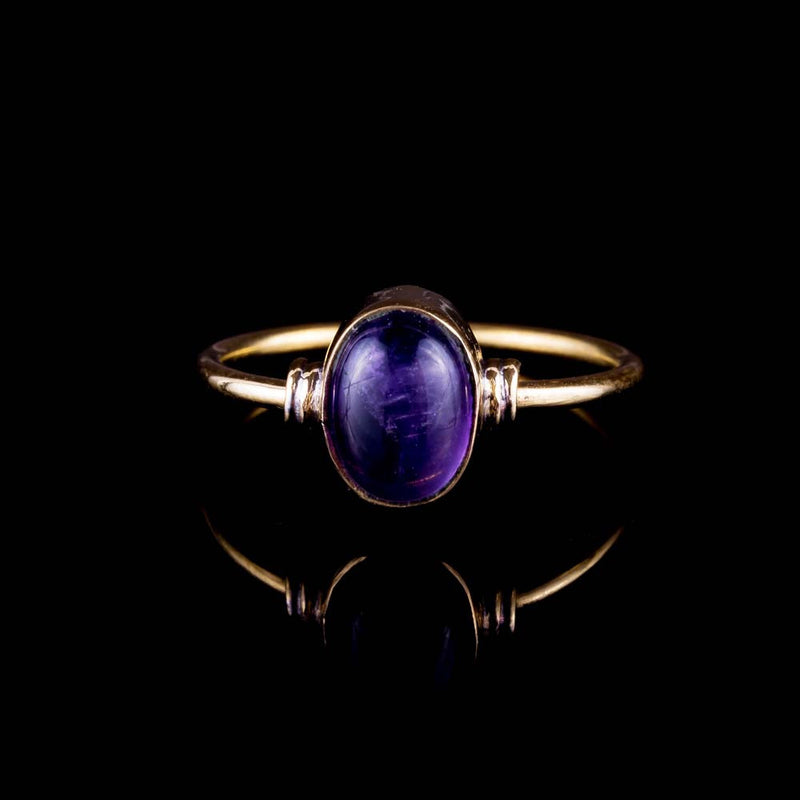 Jamna Ring - Amethyst - Ekeko Crafts