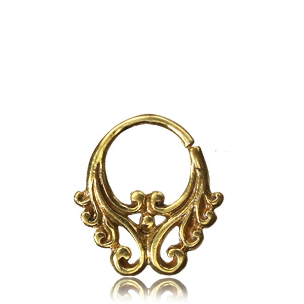 Matrikas Septum Ring - Brass - Ekeko Crafts