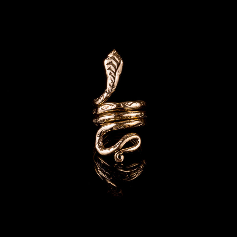 Snake Dread Bead - Ekeko Crafts