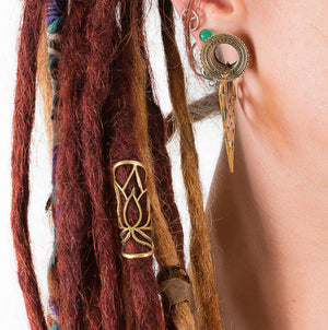 Lotus Dread Bead Large - Ekeko Crafts