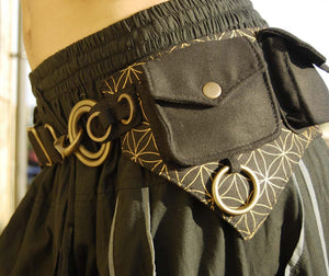 Flower of Life Batman Belt - Ekeko Crafts