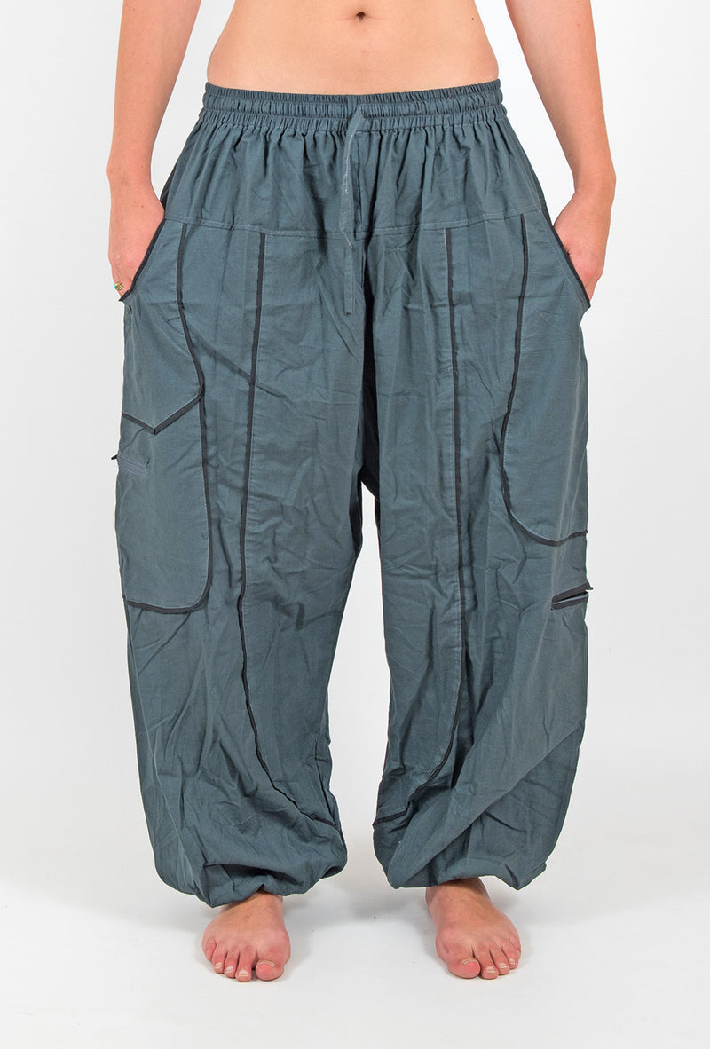 Unisex Baggy Hippie Pants - Ekeko Crafts