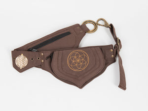 Seed of Life Lotus Belt - Ekeko Crafts