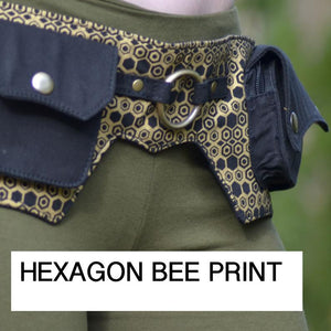 Flower of Life Batman Belt