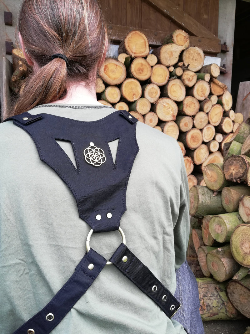Seed of Life Utility Holster Bag - Ekeko Crafts