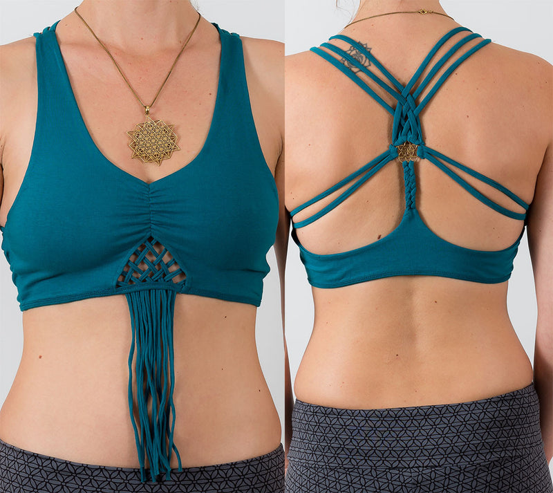 Seed of Life Yoga Bra - Ekeko Crafts