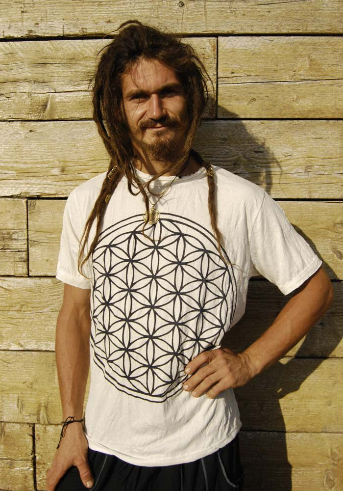 Flower of Life Tshirt - Ekeko Crafts