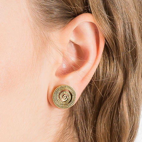 Spiral Ear Tunnel - Ekeko Crafts