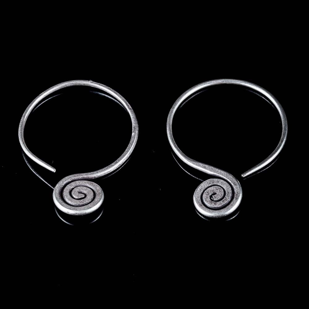Spiral Threader Earrings - Ekeko Crafts