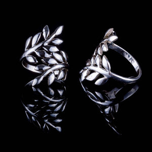 Forest Ring - Silver - Ekeko Crafts