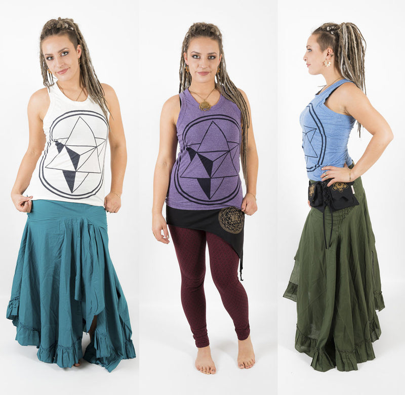 Merkaba Tank Top - Ekeko Crafts