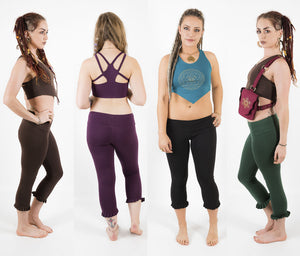 Bloomer Yoga Tights - Ekeko Crafts