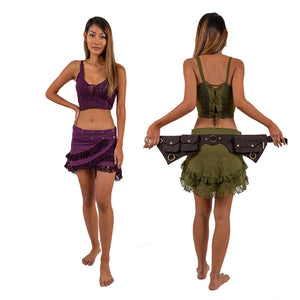 Waterfall Pixie Skirt - Ekeko Crafts