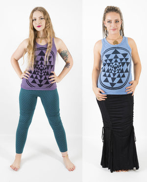 Sri Yantra Tank Top - Ekeko Crafts