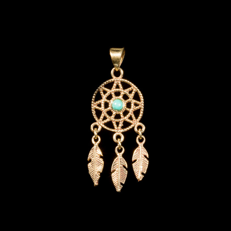 Dreamcatcher Pendant - Ekeko Crafts