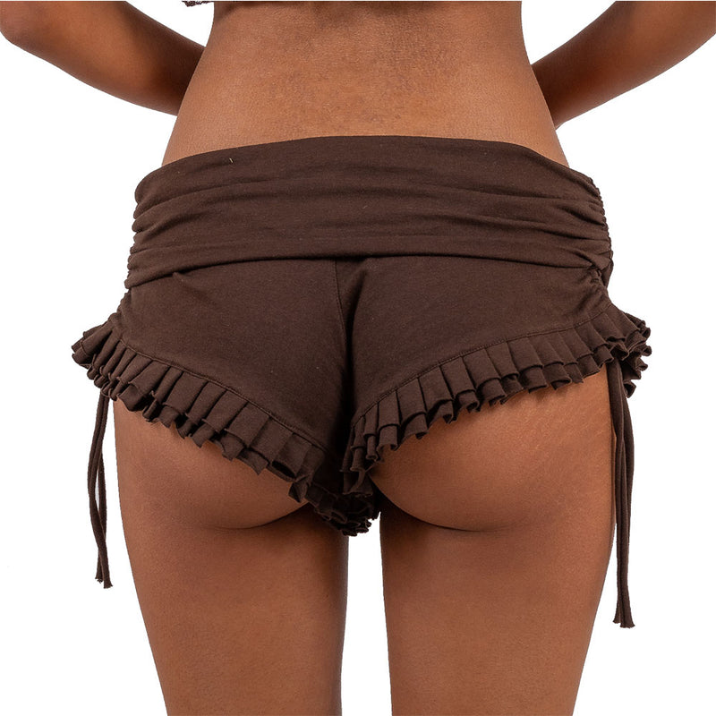 Ruched Booty Shorts - Ekeko Crafts