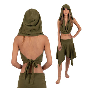 Elven Hooded Top - Ekeko Crafts