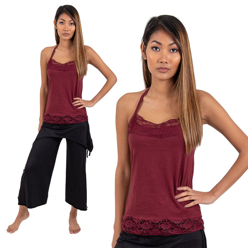 Lace Tank Top - Ekeko Crafts