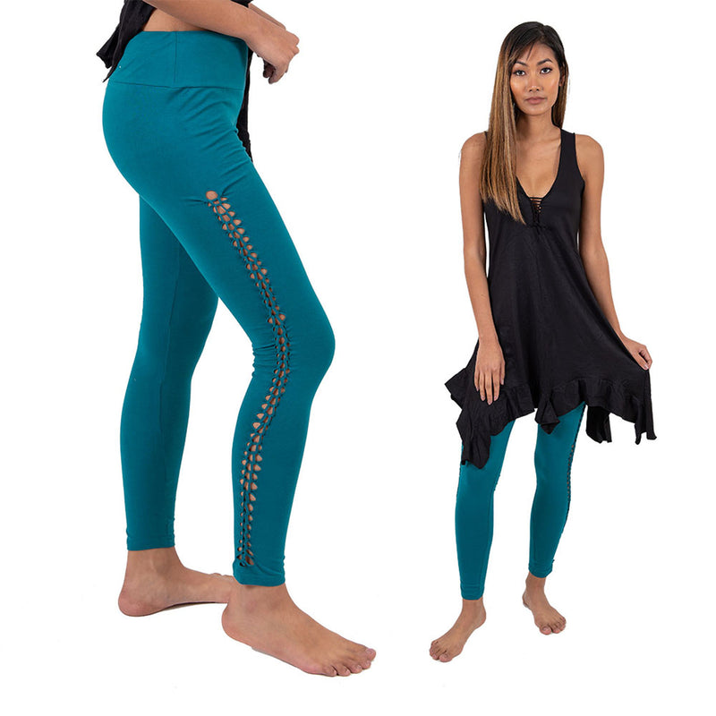 Braided Leggings - Ekeko Crafts