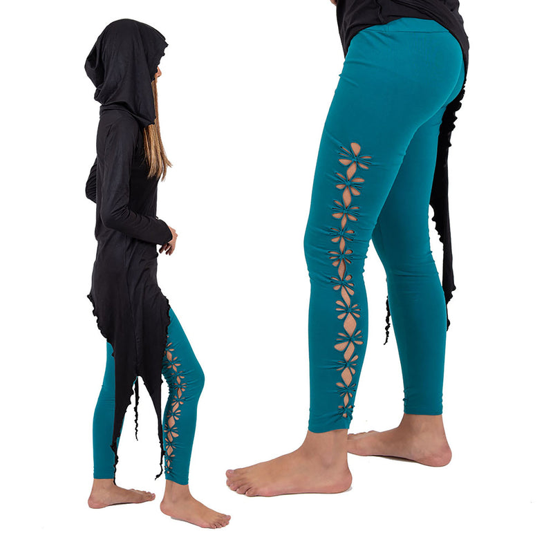 Geometry Braided Leggings - Ekeko Crafts