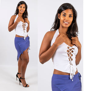 Sexy Lace-Up Top - Ekeko Crafts