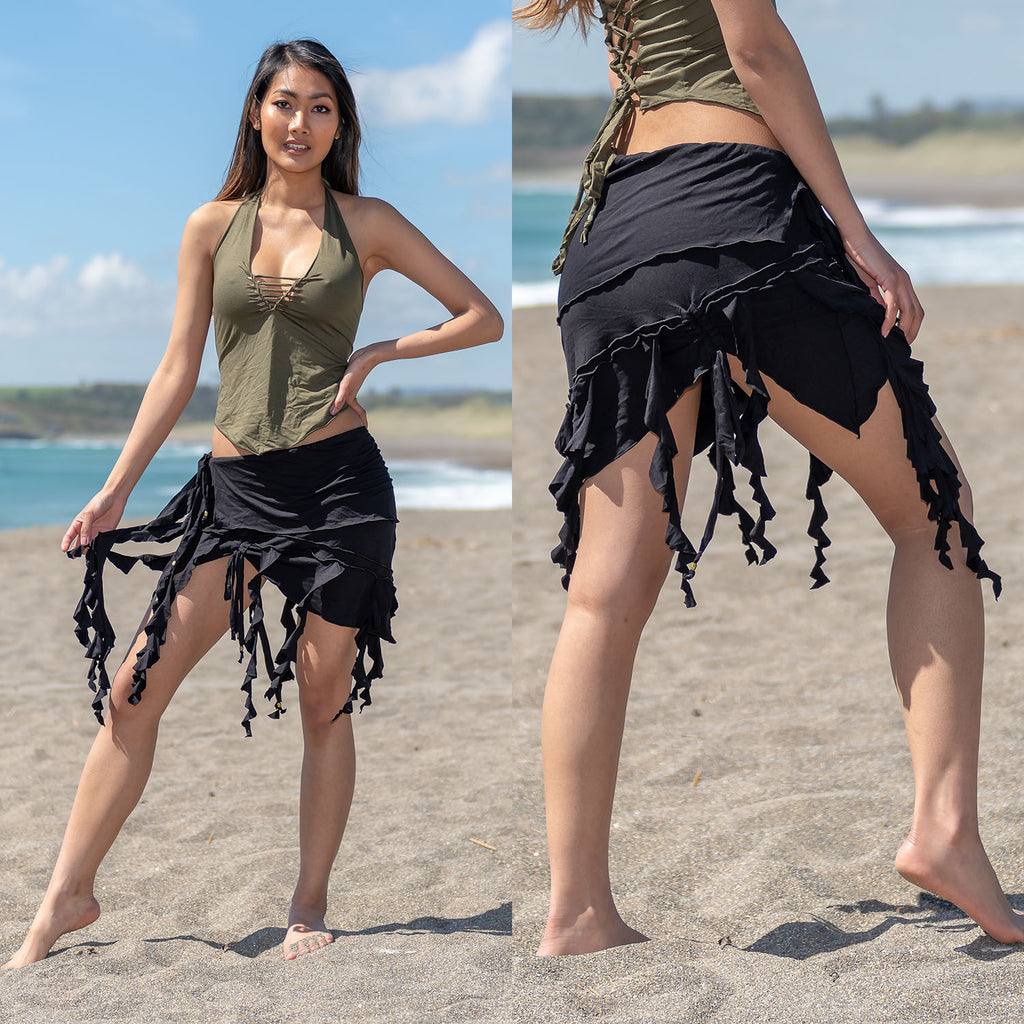 Ragged Skirt - Ekeko Crafts
