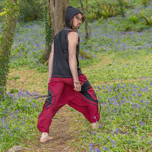Hooded Singlet - Chakra Print - Ekeko Crafts