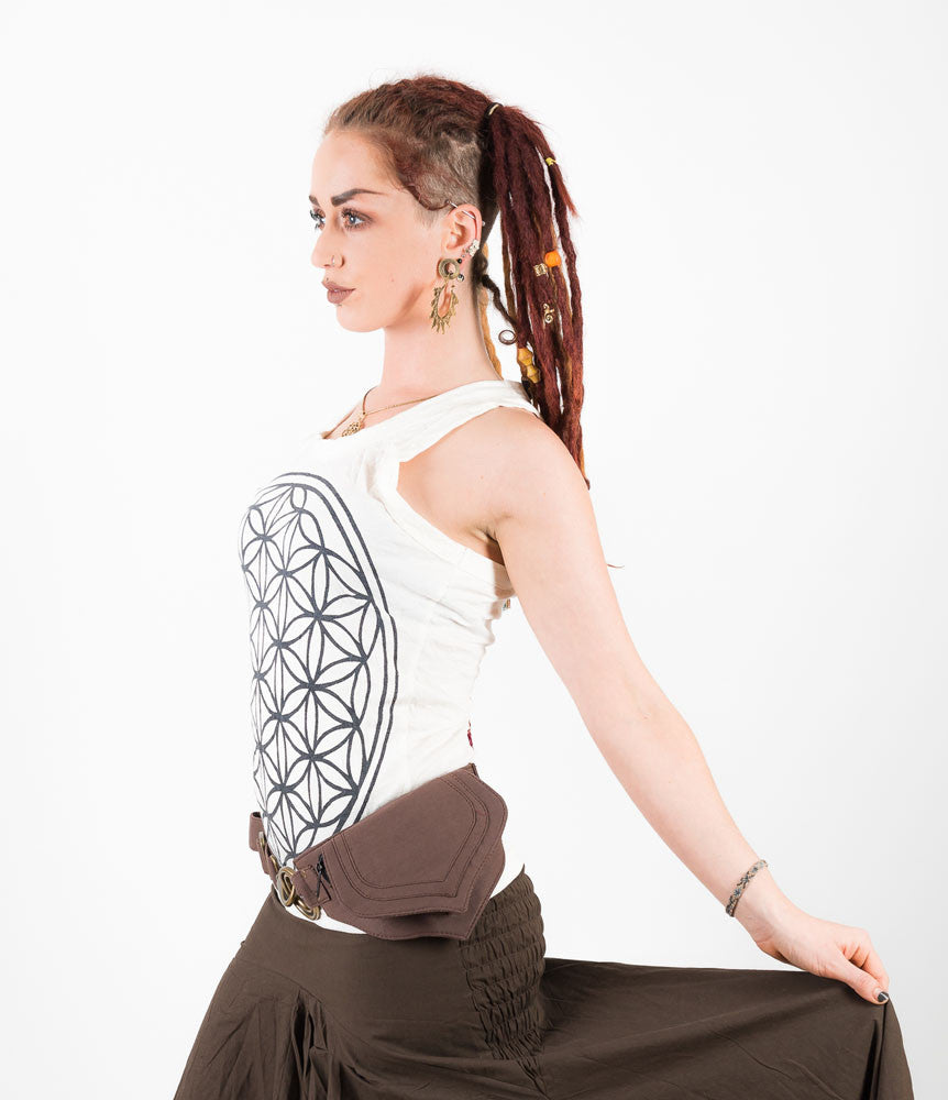 Flower of Life Tank Top - Ekeko Crafts