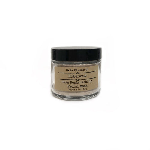 Hibiscus Skin Replenishing Facial Mask - S A Plunkett Naturals