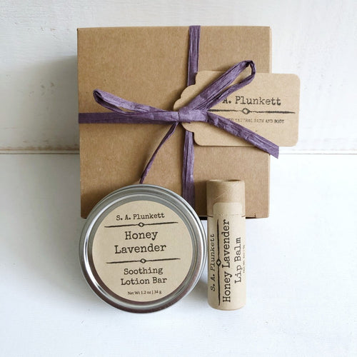 Honey Lavender Gift Set - S A Plunkett Naturals