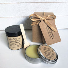 Lavender & Peppermint Foot Care Gift Set - S A Plunkett Naturals
